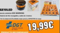 19,99€ Flash LED señalización de avería